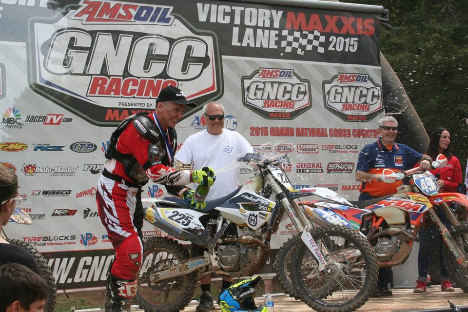 Vance Earl, 1st place at a GNCC race
